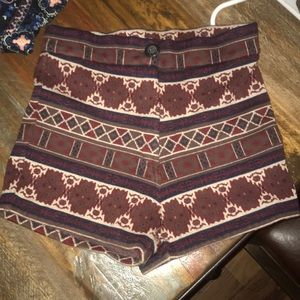 Brandy Melville tribal shorts